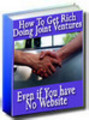 Thumbnail How To Get Rich Doing Joint Ventures MRR!
