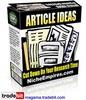 Thumbnail Article Ideas MRR!