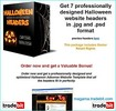 Thumbnail Halloween Graphics Package MRR