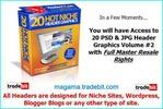 20 Header Package Volume 2 MRR