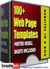 Thumbnail 100+ Web templates Master Resell Rights!