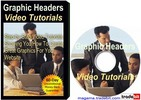 Thumbnail Graphic Headers Video Tutorial Pack MRR!