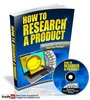 Thumbnail How To Research A Product Video Tutorial MRR!