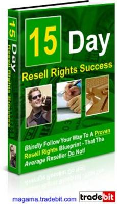 Product picture 15 Day Resell Rights Success PLR!