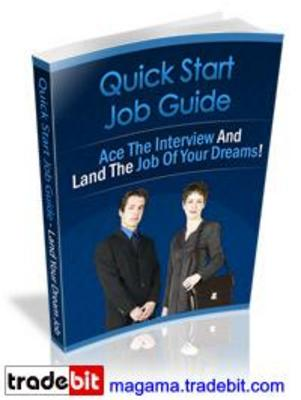 Product picture Quick Start Job Guide PLR MRR!