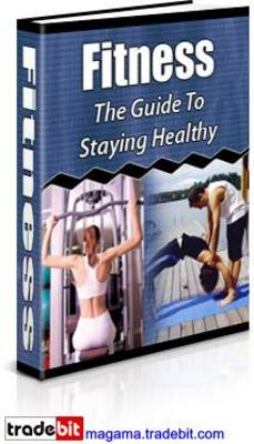 Product picture Fitness - The Guide To Staying Healthy MRR!
