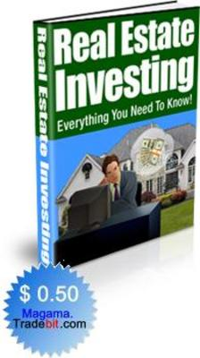Product picture Real Estate Investing PLR!