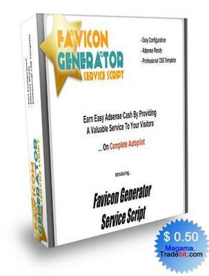 Product picture Favicon Generator Service Script MRR!