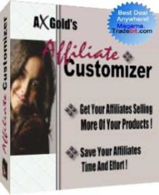 Product picture Affiliate Customizer MRR!