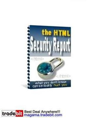Product picture The HTML Security Report MRR!