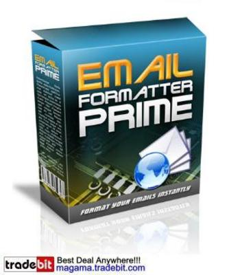 Product picture EMAIL Formatter PRIME MRR!