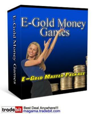 Product picture E-Gold Money Games MRR!