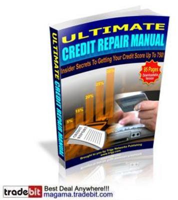 Product picture Ultimate Credit Repair Manual MRR!