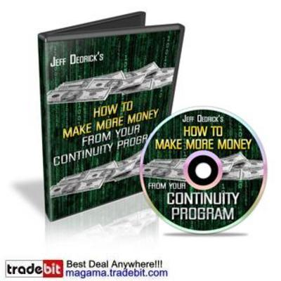 Product picture How To Make More Money From Your Continuity Program MRR!