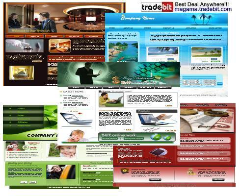 Product picture 5 HTML Templates 2010 PLR MRR!