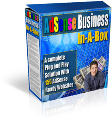 Product picture Adsense Business In-A-Box-box MRR!