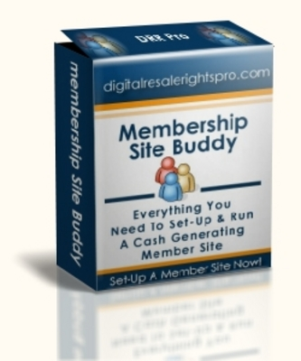 Product picture Membership Site Buddy Mrr