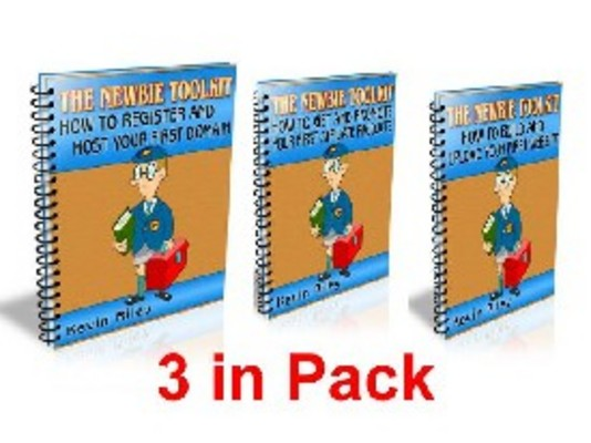 Product picture The Newbie Toolkit 3inPack MRR