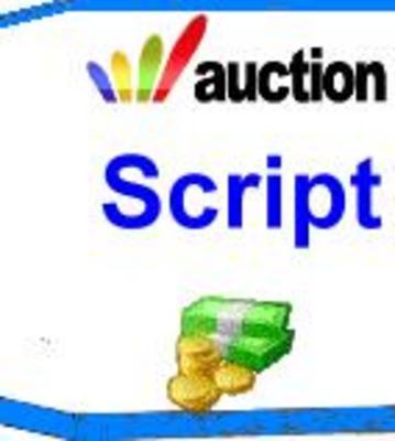 Product picture Auction Site PHP Script MRR