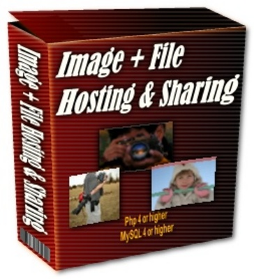 Product picture Image File Hosting & Sharing MRR