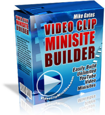 Product picture Video Clip Mini site Builder MRR!