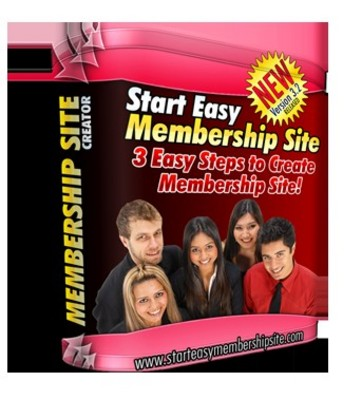 Product picture Start Easy Membership Site Creator MRR!