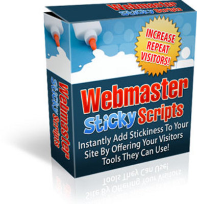 Product picture Webmaster Sticky Scripts MRR