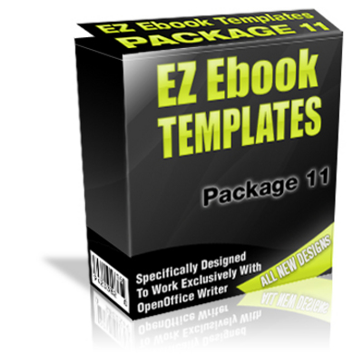 Product picture EZ Ebook Template Package MRR