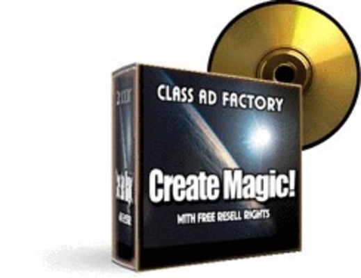 Product picture Class Ad Factory Create Magic MRR