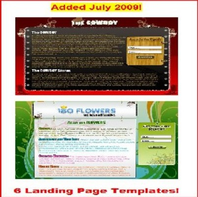 Product picture 6 Landing Page Templates RR