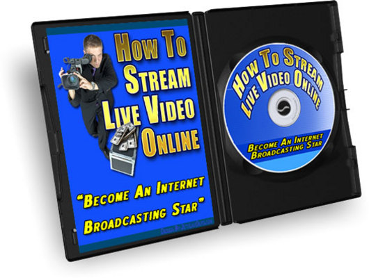 Product picture How To Stream Live Video Online MRR