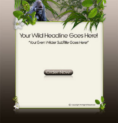 Product picture 3 High-Quality Wildlife Templates MRR