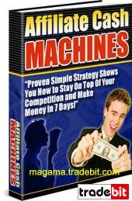 Product picture Affiliate Cash Machines PLR MRR