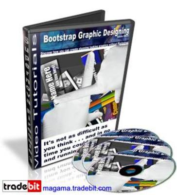 Product picture BootStrap Graphic Designing Video Tutorials MRR!