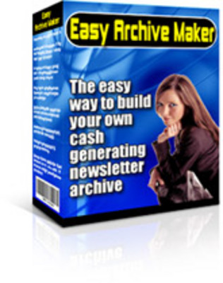 Product picture Easy Archive Maker MRR