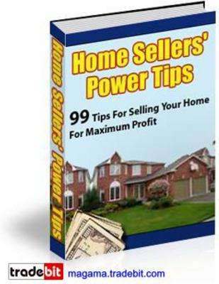 Product picture Home Sellers Power Tips PLR MRR