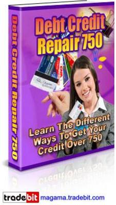 Product picture Debt Credit Repair 750 PLR and MRR!