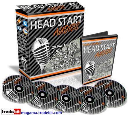 Product picture Head Start Audios Master Resale Rights!
