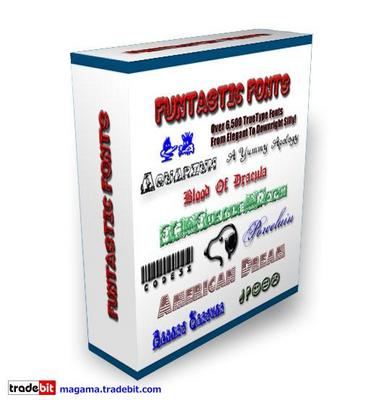 Product picture Funtastic Fonts Over 6500 Master Resale Rights!