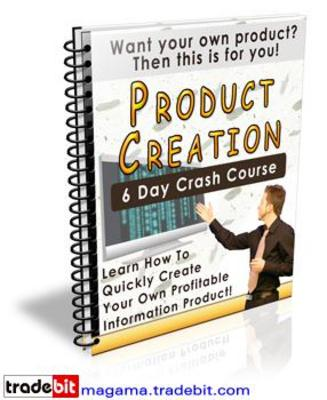 Product picture Product Creation Crash Course PLR!