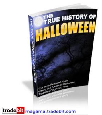 Product picture The True History Of Halloween PLR!