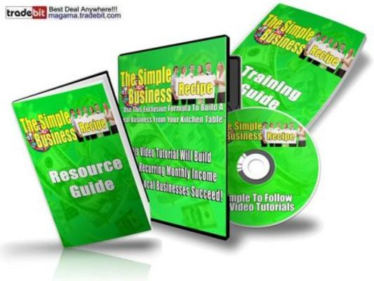 Product picture The Simple Business Recipe PLR!