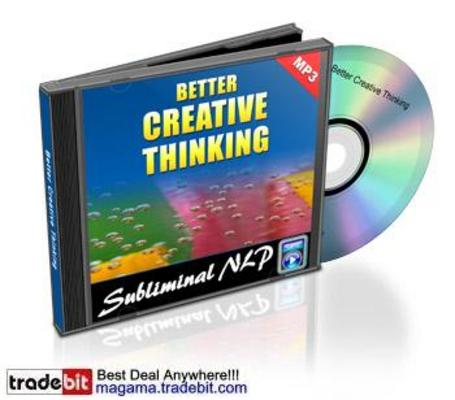 Product picture Subliminal NLP Track Better Creative Thinking MRR!