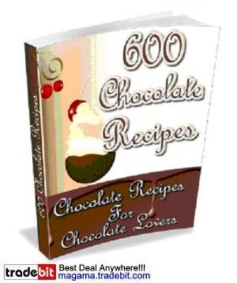 Product picture 600 Chocolate Recipes MRR!
