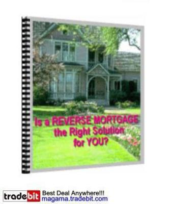 Product picture Reverse Mortgages Solutions MRR!